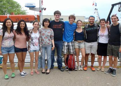 2014 Lake Champlain REU Cohort