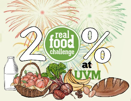 UVM Met and Expanded its 20% Real Food Challenge Goals