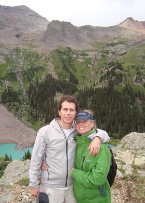 Jeff and Brooke Augello traveling in Telluride, Colorado