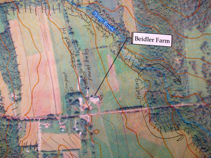 Map detail.