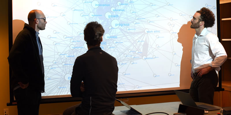 UVM professors Jim Bagrow, Peter Dodds and Chris Danforth discuss the networks of cause-and-effect relationships generated in a large-scale crowdsourcing project.
