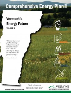 Cover of Vermont's 2011 Comprehensive Energy Plan