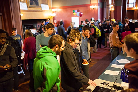 Computer Science Faire at UVM