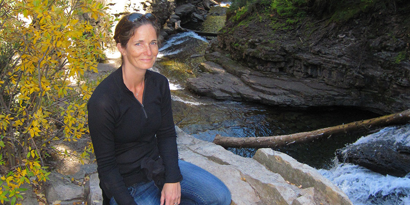 Assistant Professor Carol Adair studies climate change and adaptation of terrestrial ecosystems in Vermont.
