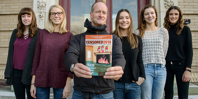 Six UVM student included in Project Censored anthology.