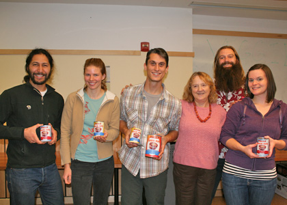RGSA Chili Cook-Off Winners (left to right): Jon Katz, Monika Derrien, Ryan Morra, Judge Suzanne Levine, Cook-Off Coordinator Nathan Reigner, and Ellen Rovelstad