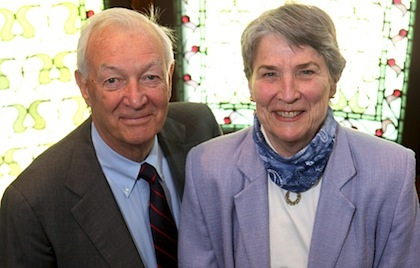 Drs. Richard and Sylvia Cruess