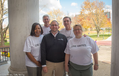UVM United Way Campaign Volunteers