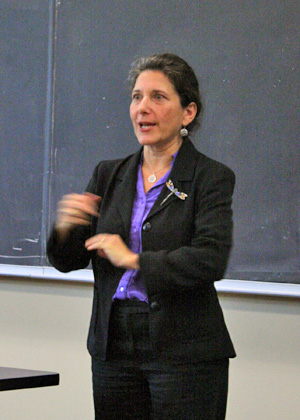 Secretary of Vermont Agency of Natural Resources Deb Markowitz leads off Fall 2013 RSENR Seminar Series.