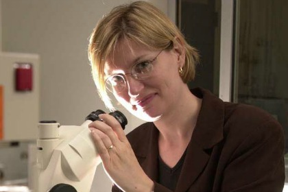 Sylvie Doublie, Ph.D., Professor of Microbiology and Molecular Genetics and Director of Undergraduate Biochemistry