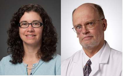 Julie Dumas, Ph.D., Associate Professor of Psychiatry and C. Lawrence Kien, M.D., Professor of Pediatrics