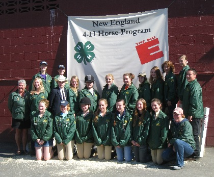 vermont 4-H horse members