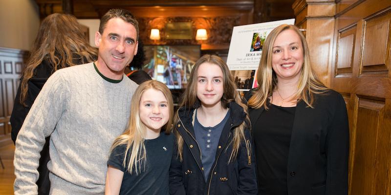 Erika White and her family