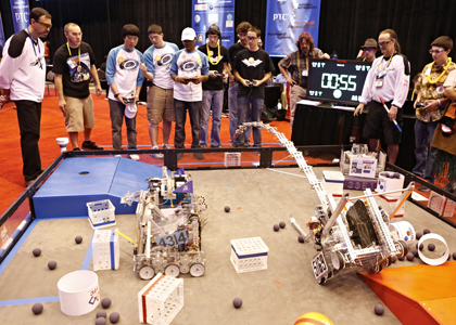 FIRST robot tech challenge