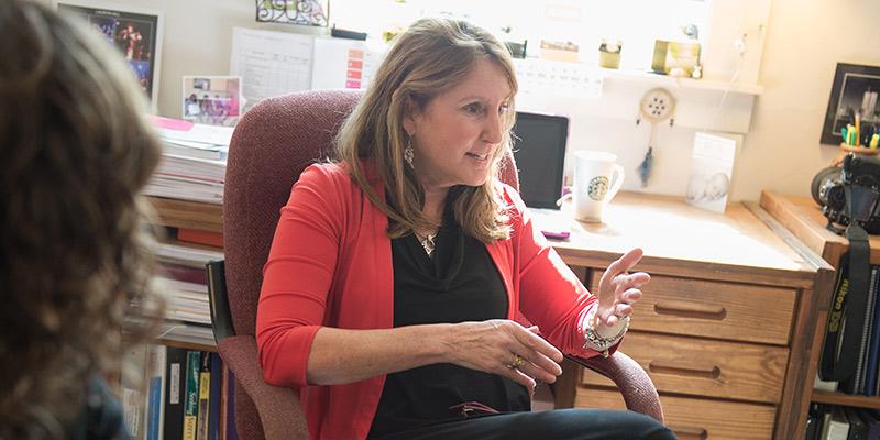 UVM's Karen Fondacaro