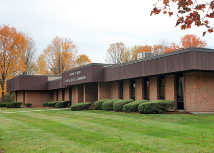 Aiken Forestry Sciences Laboratory on Spear Street transferred to UVM.