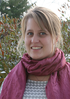 Gillian Galford, new research assistant professor in RSENR's Gund Institute for Ecological Economics