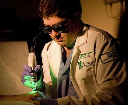 Professor of Medicine and Director of Dermatology Glenn Goldman, M.D.