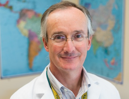 Christopher Grace, M.D., Professor of Medicine at the University of Vermont College of Medicine and an Infectious Disease Specialist at Fletcher Allen Health Care