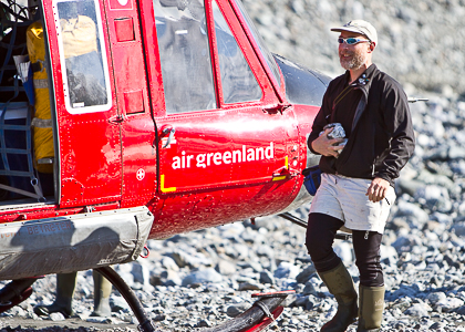 Paul Bierman in Greenland