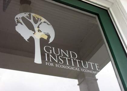 Gund Institute for Ecological Economics door