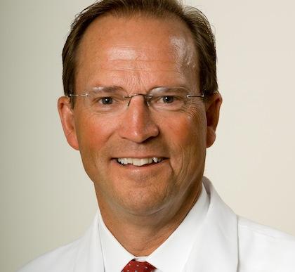 David Halsey, M.D., UVM Associate Professor of Orthopaedics and Rehabilitation and Fletcher Allen Orthopaedic Surgeon