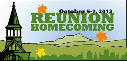 UVM 2012 Reunion-Homecoming