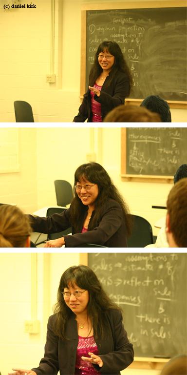 Dr. Liang teaches CDAE 267