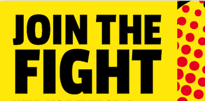 Join the Fight logo