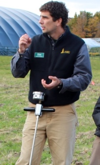 Farming & Climate Change Coordinator Joshua Faulkner