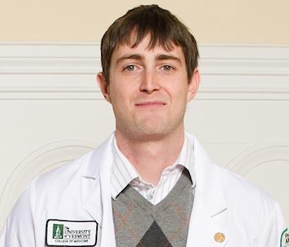 Medical student David Larsen
