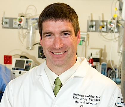 Steve Leffler, M.D., UVM Professor of Medicine and Fletcher Allen�s Chief Medical Officer