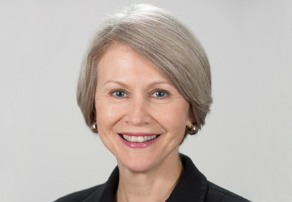 Debra Leonard, M.D., Ph.D., Professor of Medicine and Chair of Pathology