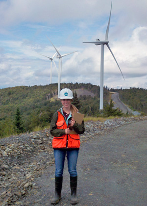 As an intern, Elizabeth Bennett conducted site assessments for an environmental consulting firm.