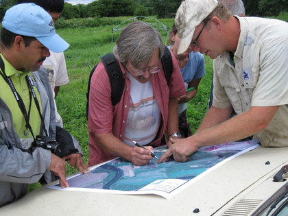 In 2009, Mendez held an on-farm ecology class in Burlington's Intervale.
