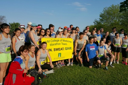 UVM College of Medicine Running Team