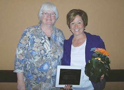 Kay Towne, left, and Laurie McLean