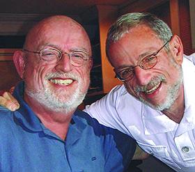 Michael Brittenbac and Dr. William A. Meezan
