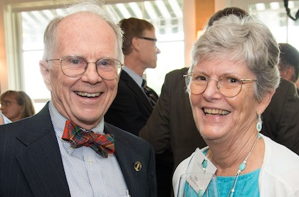 Rees Midgley, M.D.'58 and Jane Wilson Coon, R.N., D.N.Sc.