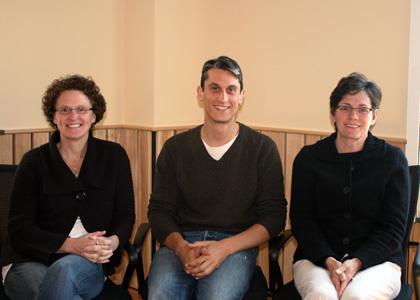 Robin Orr, Ryan Morra, and Kate Baldwin of NSRC