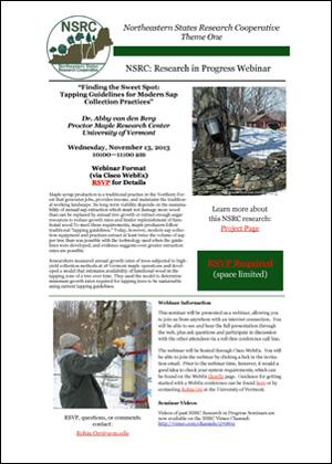 NSRC webinar flyer