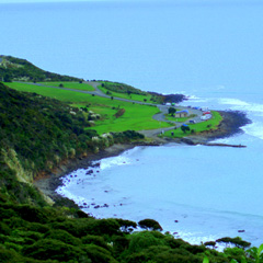 Raglan, New Zealand coast