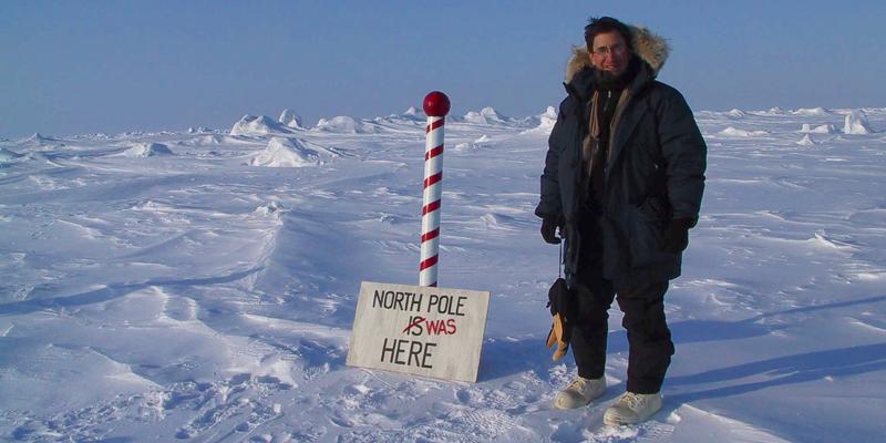 Andrew Revkin at North Pole