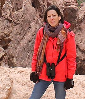 Rozenn Bailleul-LeSuer in Petra, Jordan