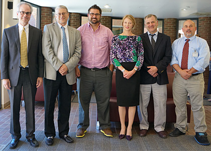 Robert Shapiro, M.D., Ph.D.; Christopher Francklyn, Ph.D.; Jon Ramsey, Ph.D.; Rachael Oldinski, Ph.D.; Dryver Huston, Ph.D., Daniel Weiss, M.D., Ph.D.