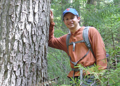 Sam Gersie interned at the Hubbard Brook Experimental Forest for summer 2013.