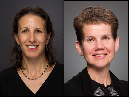 Mercedes Rincon, Ph.D., and Margaret Vizzard, Ph.D.