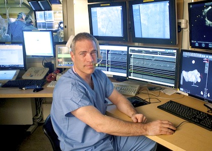 Peter Spector, M.D., Professor of Medicine and Director of Electrophysiology at Fletcher Allen Health Care