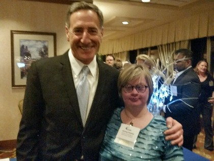 Stirling and Governor Peter Shumlin