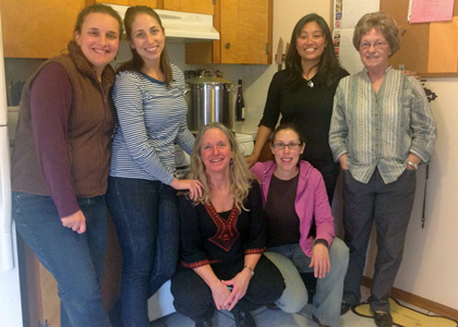 RSENR Students Services in the COTS kitchen